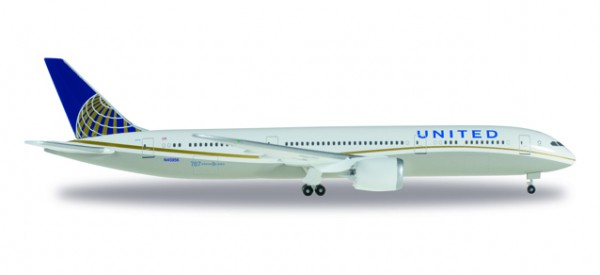 HERPA 528238-001 United Airlines Boeing 787-9 Dreamliner