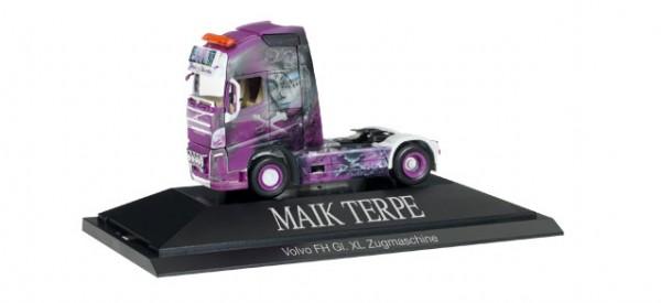 "HERPA 110815 Volvo FH Gl. XL Solo-Zugmaschine""Maik Terpe"", PC"