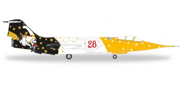 "HERPA 580205 Lockheed RF-104G Starfighter Italian AF - 28˚ Grupo, 3˚ Stormo ""Strega"""