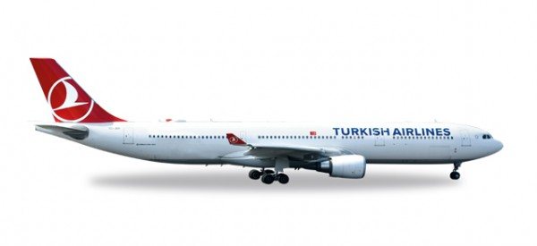 "HERPA 558105 Turkish Airlines Airbus A330-300 ""EM 2016"""