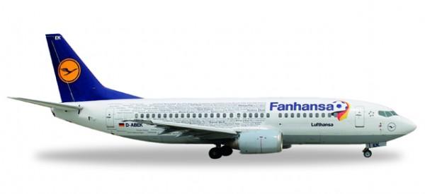 """HERPA 529594 Lufthansa Boeing 737-300 """"Fanhansa"""""""