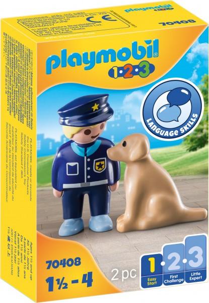 PLAYMOBIL® 70408 Polizist mit Hund
