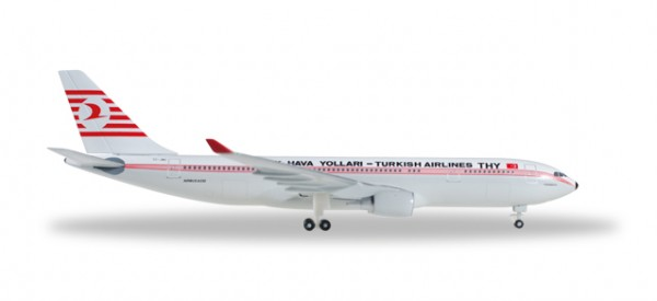 HERPA 529013 Turkish Airlines Airbus A330-200 - Retro colors