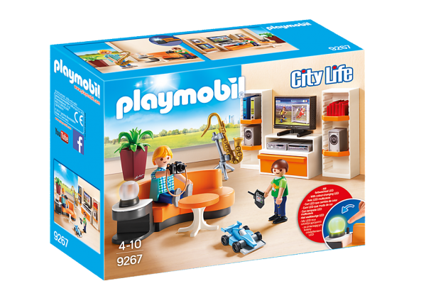 PLAYMOBIL® 9267 Wohnzimmer