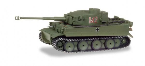 HERPA 745932 Panzerkampfwagen Tiger Ausf. H1, dekoriert, Tunesien (Nr. 142)