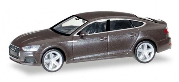 HERPA 038706 Audi A5 Sportback, Argusbraun metallic
