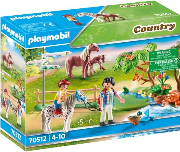 PLAYMOBIL® 70512 Fröhlicher Ponyausflug