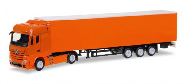 HERPA 307451 Scania R Highline Gardinenplanen-Sattelzug, unbedruckt