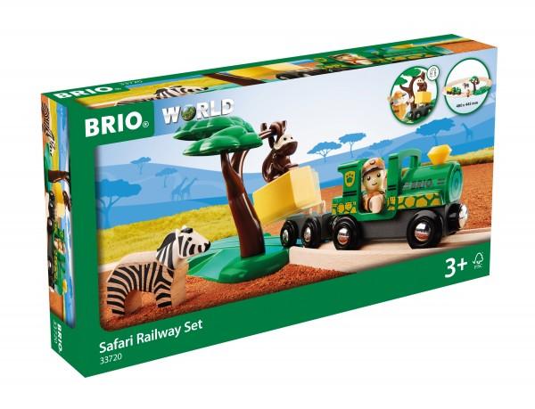BRIO 33720 BRIO Safari Bahn - Set