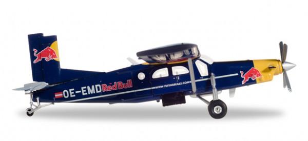 HERPA 580304 The Flying Bulls Pilatus PC-6 Turbo Porter - OE-EMD