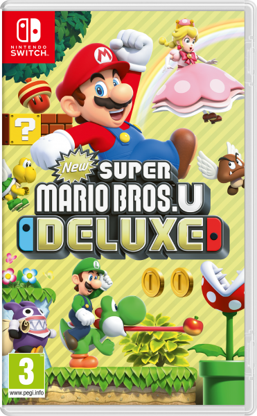 NINTENDO® 2525654 New Super Mario Bros. U Deluxe