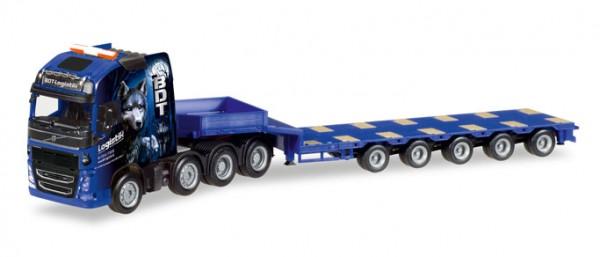"HERPA 308564 Volvo FH Gl. Semitieflade-Sattelzug ""BDT Logistik GmbH"""