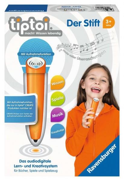 RAVENSBURGER 00801 Der Stift - Das audiodigitale Lern- und Kreativsystem, Lernspielzeug für Kinder a