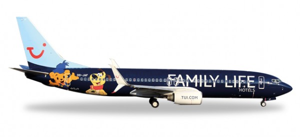 "HERPA 529433 Jetairfly Boeing 737-800 ""Family Life Hotels"""