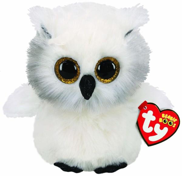 TY 36305 AUSTIN WHITE OWL 15 cm