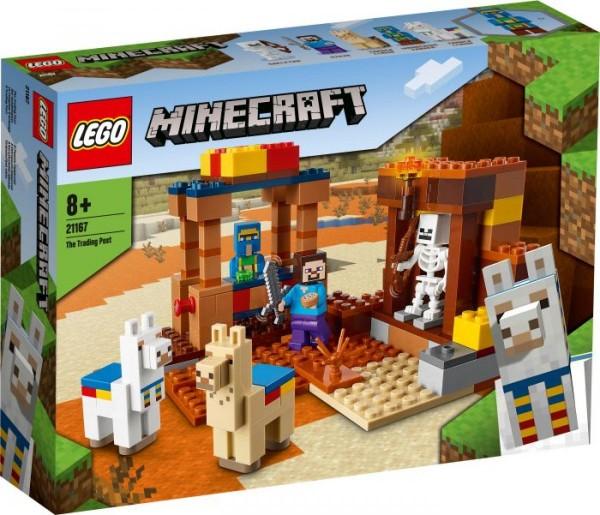 LEGO® Minecraft# 21167 Der Handelsplatz