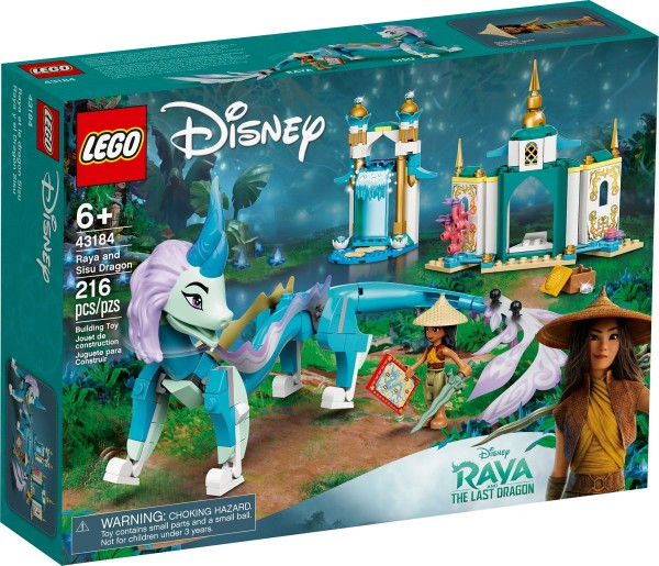 LEGO® Disney Princess 43184 Raya und der Sisu Drache