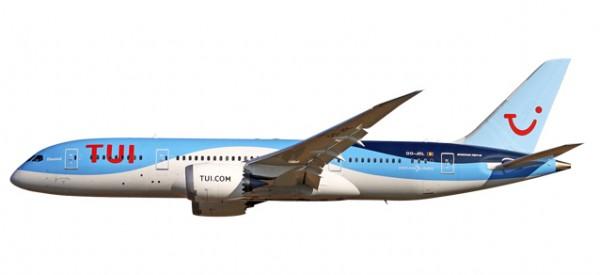 HERPA 611466 Boeing 787-8 Dreamliner TUI Airlines Belgium (Jetairfly)