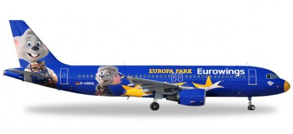 "HERPA 558808 Eurowings Airbus A320 ""Europa-Park"" - D-ABDQ"