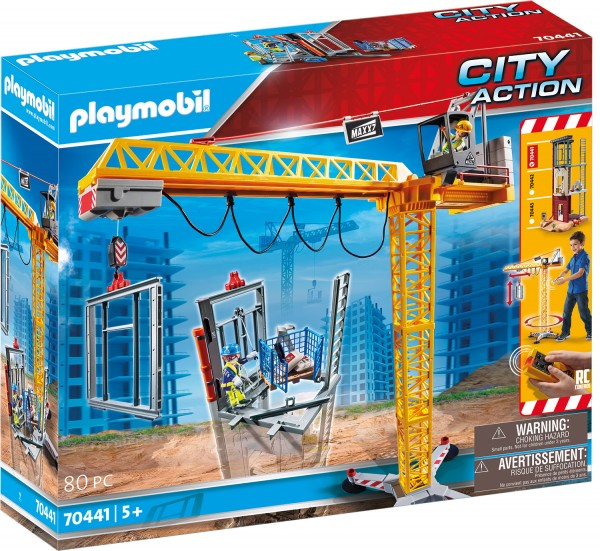 PLAYMOBIL® 70441 RC-Baukran mit Bauteil