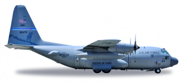 HERPA 530651 U.S. Air Force Lockheed C-130H Hercules - Nevada Air National Guard, 192nd Airlift Sqd