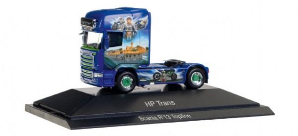 "HERPA 110877 Scania R TL Zugmaschine ""HP-Trans - Valentino Rossi"" (CZ)"