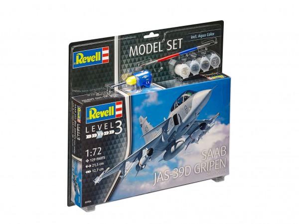 REVELL 63956 Model Set Saab JAS-39D Gripen Tw