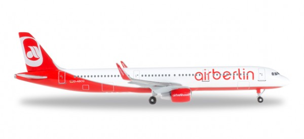 HERPA 528443-001 airberlin Airbus A321