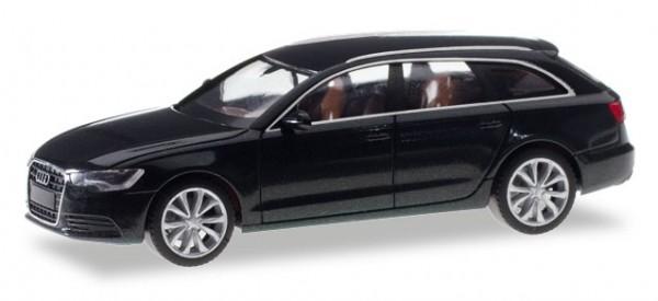 HERPA 034883-003 Audi A6 Avant, phantomschwarz metallic