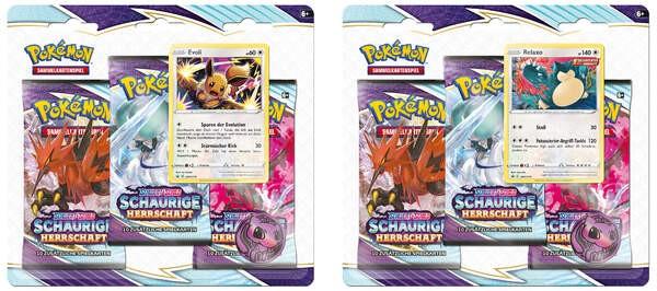 Pokémon 45290 Pokémon 3-Pack Blister DE