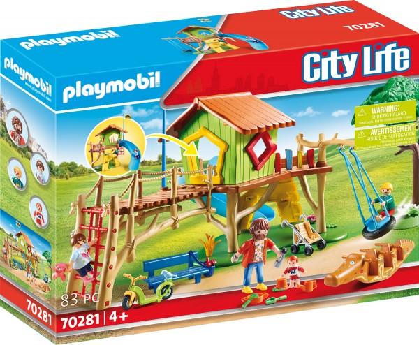 PLAYMOBIL® 70281 Abenteuerspielplatz