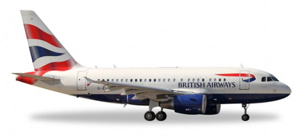 HERPA 562560 British Airways Airbus A318