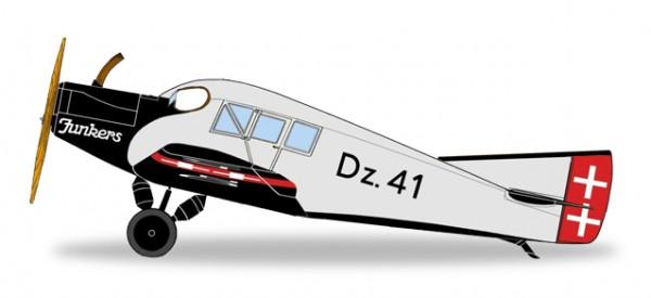 HERPA 019361 Danziger Luftpost Junkers F.13