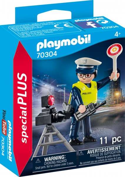 PLAYMOBIL® 70304 Polizist mit Radarfalle