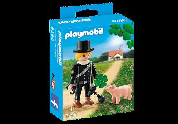 PLAYMOBIL® 9296 Schornsteinfeger mit Glückschweinchen und Kleeblatt