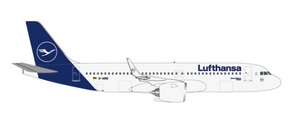 "HERPA 533386 Lufthansa Airbus A320neo - new colors ""Rastatt"""