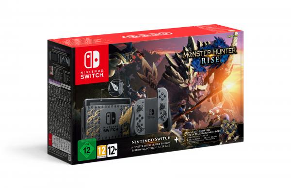 NINTENDO® 10006106 Nintendo Switch Monster Hunter Rise Edition