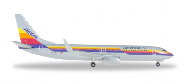 HERPA 529631 American Airlines Boeing 737-800 - Air Cal Heritage Livery