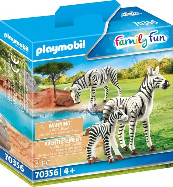 PLAYMOBIL® 70356 2 Zebras mit Baby