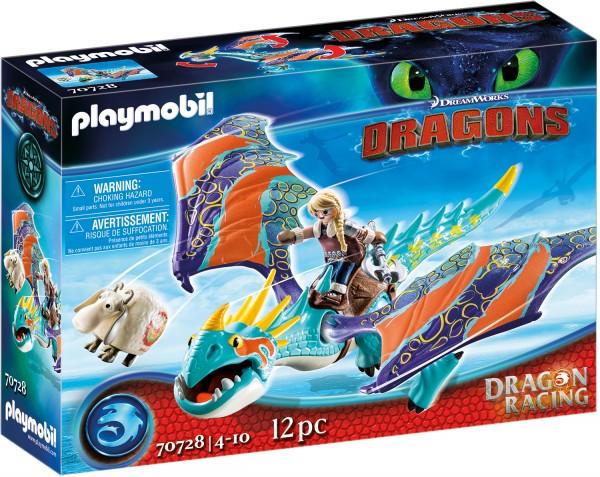 PLAYMOBIL® 70728 Dragon Racing: Astrid und Sturmpfeil