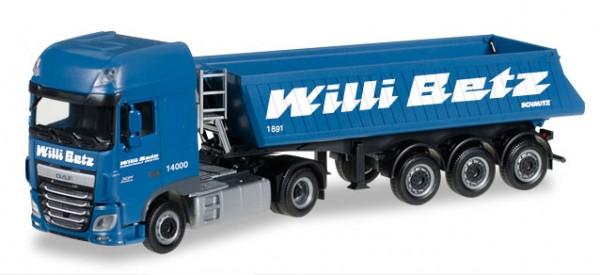 "HERPA 306119 DAF XF SSC Euro 6 Baukipper-Sattelzug ""Willi Betz"""