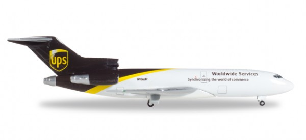 HERPA 530873 UPS Airlines Boeing 727-100C - N936UP