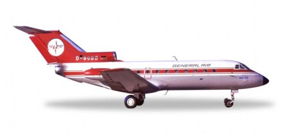 HERPA 558358 Yakovlev Yak-40 General Air