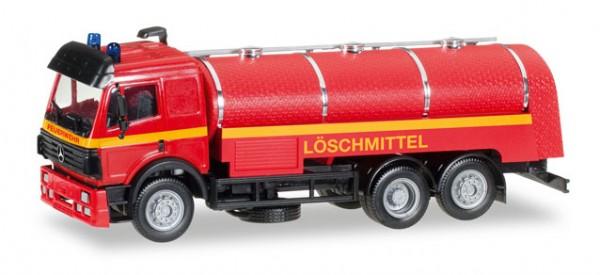 """HERPA 092920 Mercedes-Benz SK `94 Tank-LKW """"Feuerwehr Löschmittel"""""""