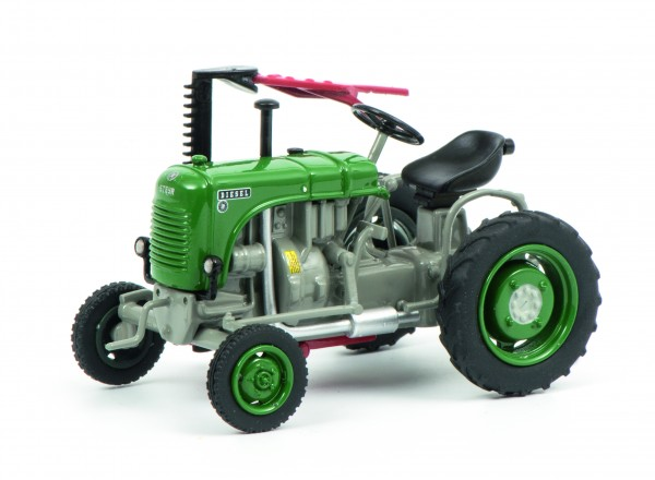 SCHUCO 450902900 Steyr 80, grün-grau 1:43