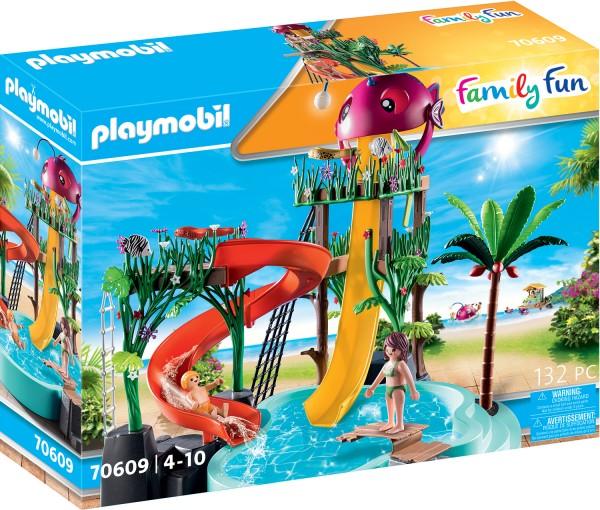 PLAYMOBIL® 70609 Aqua Park mit Rutschen
