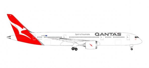 HERPA 558778 Qantas Boeing 787-9 Dreamliner - new colors - VH-ZNA