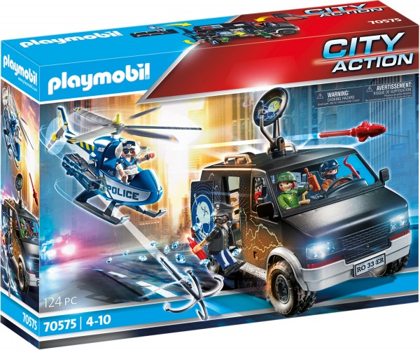 PLAYMOBIL® 70575 Polizei-Helikopter: Verfolgung des Fluchtfahrzeugs