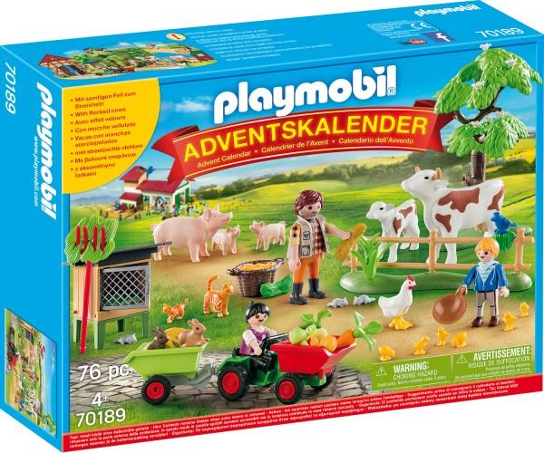 """PLAYMOBIL® 70189 Adventskalender """"Auf dem Bauernhof"""""""