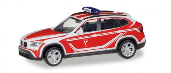 """HERPA 093552 BMW X1 Kommandowagen """"Feuerwehr Landshut"""""""